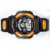 Часы детские наручные Yonix kids orange, фото 2