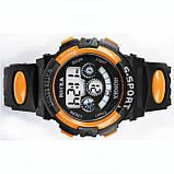 Часы детские наручные Yonix kids orange, фото 4