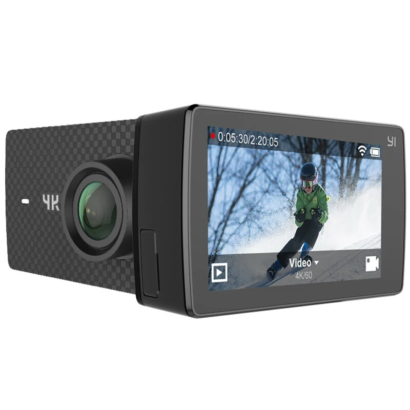 Экшн-камера Xiaomi Yi 4k+ PLUS Black Международная версия