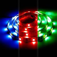 Светодиодная лента 12в в силиконе - Feron LS607 RGB 5050 30шт/м 7.2Вт