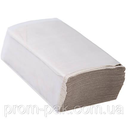 Бумажные полотенца z  160 лист серые, фото 2