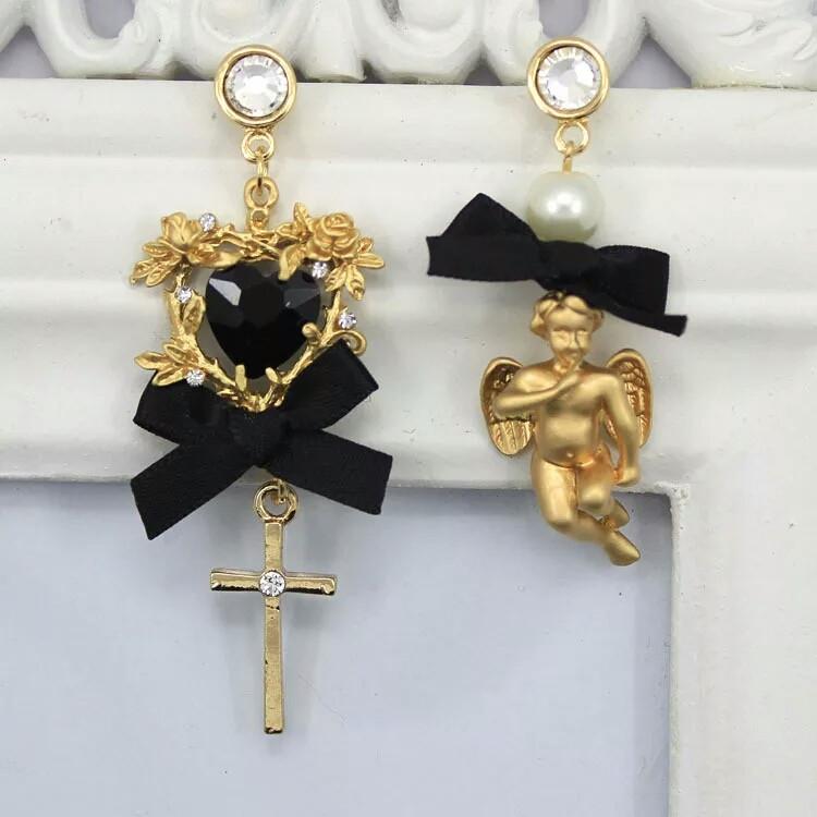 Серьги Dolce & Gabbana (Дольче Габбана) ангел