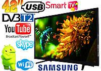 "Телевизор  LED Smart Samsung Android 7, Wi-Fi, Full HD 42"" дюйма S seria 423 + Подарок!"