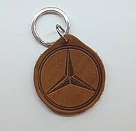 Кожаный брелок / Марки авто / Mercedes, фото 1