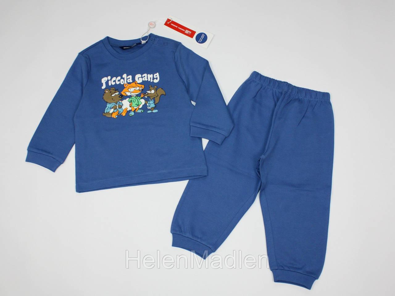 Пижама Original Marines для мальчика 80 см синяя AQA0688NO