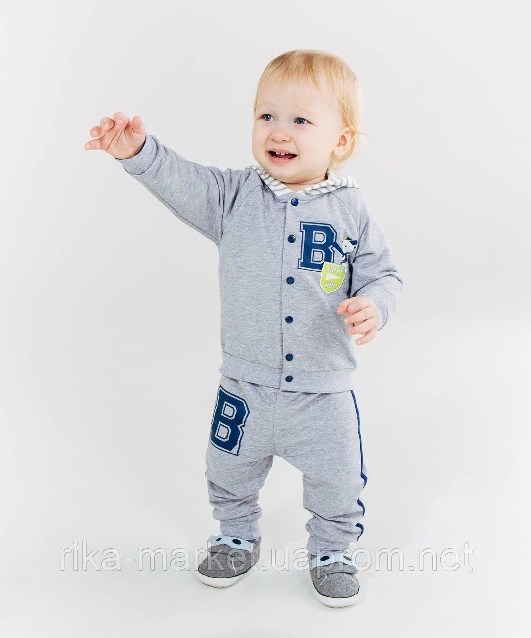 Комплект (куртка+брюки) для мальчика ТМ Смил, арт. 117193, возраст от 6 до 18 месяцев