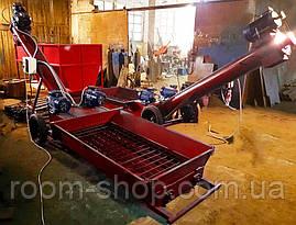 Шнекові розвантажувачі вагонів (Хопер) зерна на 50 тонн на годину, фото 2
