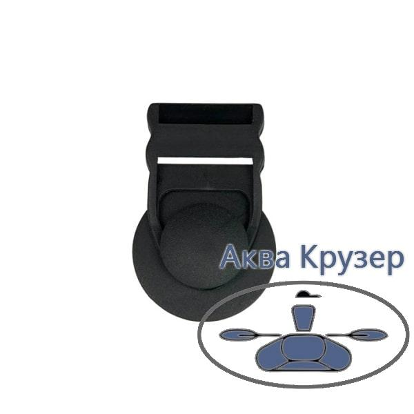 Комплект (грибок пвх и пряжка) для крепления тента на надувную лодку ПВХ