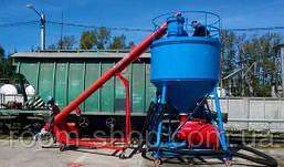 Шнекові розвантажувачі вагонів (Хопер) зерна на 50 тонн на годину, фото 3