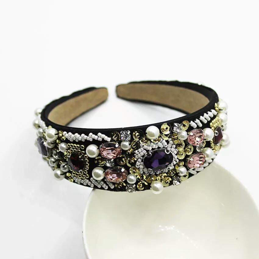 Ободок-диадема (обруч)  в стиле Dolce&Gabbana_Диана