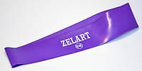 Фитнес-резинка, кольцевая лента сопротивления, лента эспандер фиолетовая ZELART