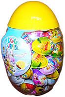 Яйца пластиковые в яйце Джой яйцо минимакс 30шт