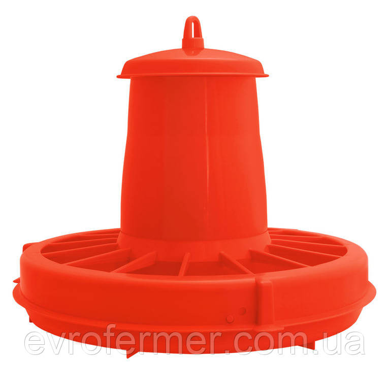 Бункерная кормушка для домашней птицы 5 л.