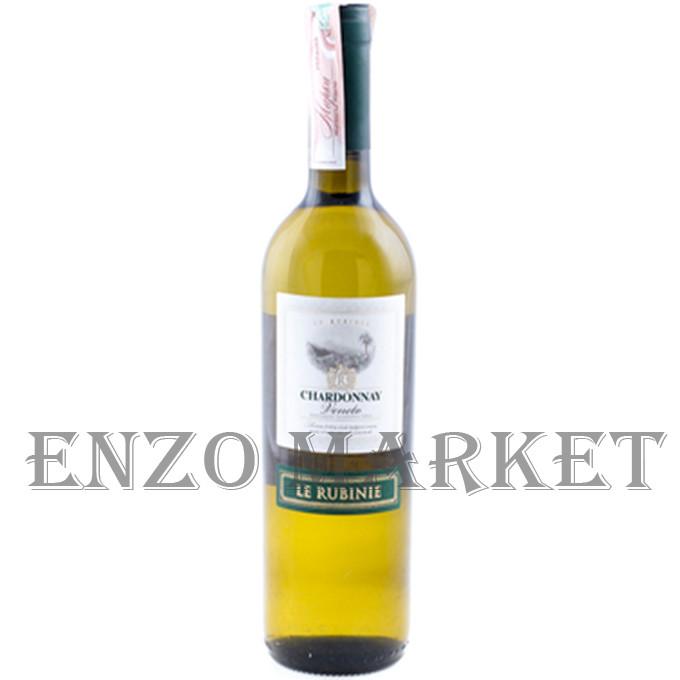 Вино Le Rubinie Chardonnay Veneto IGT (Белое сухое), 0,75 литра