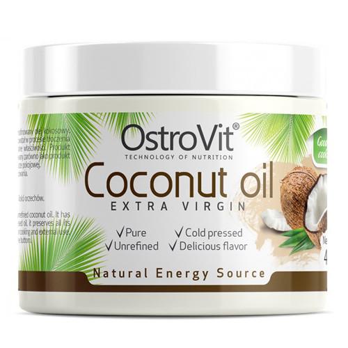Кокосове масло OstroVit - Coconut Oil Extra Virgin (400 грам)