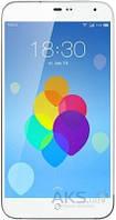 Дисплей (экраны) для телефона Meizu MX3 + Touchscreen White