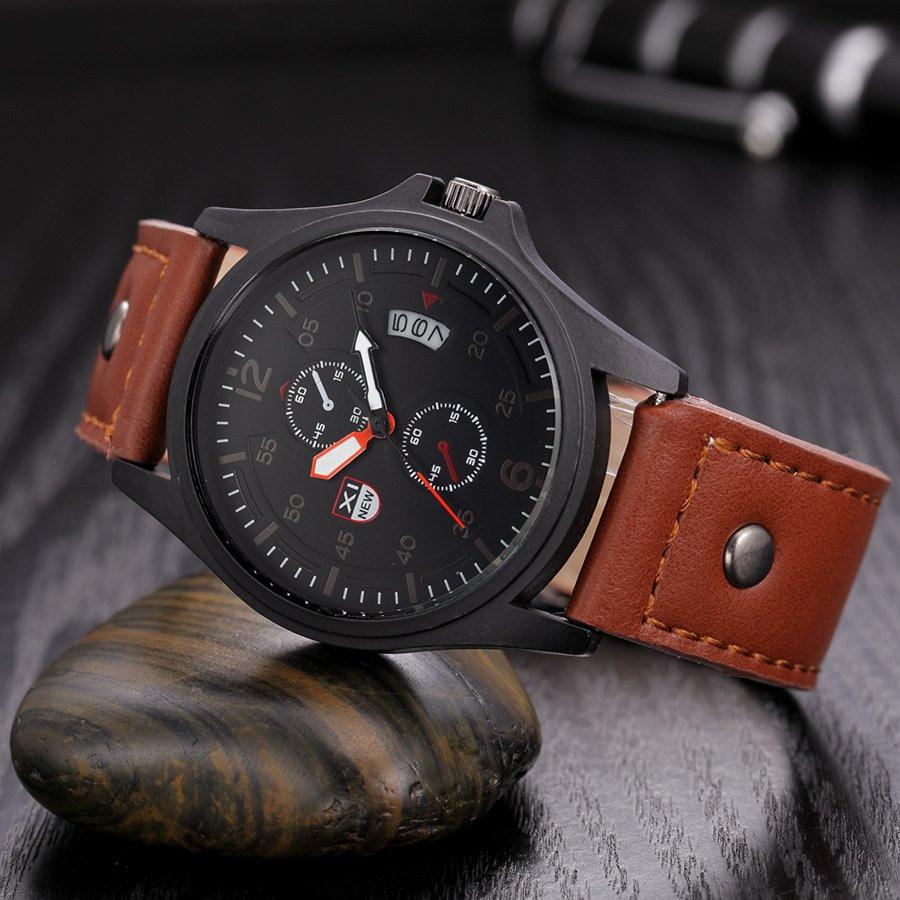 Часы мужские наручные XI New brown