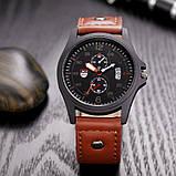 Часы мужские наручные XI New brown, фото 2