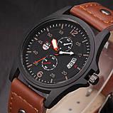 Часы мужские наручные XI New brown, фото 3
