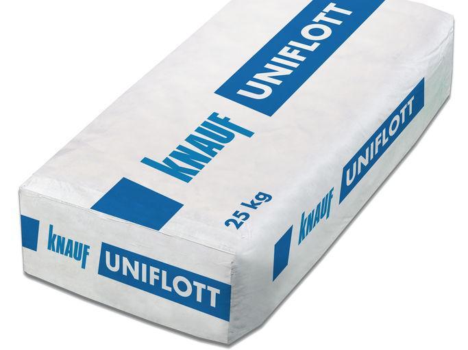 Шпаклевка Knauf Uniflott 25 кг для швов гипсокартона