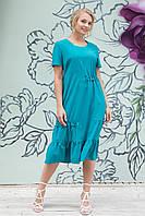Платье женское в 3х цветах АР Пандора 52-60 размеры