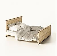 Двоспальне ліжко 160 в дитячу чи спальню з ДСП Палермо Світ Меблів