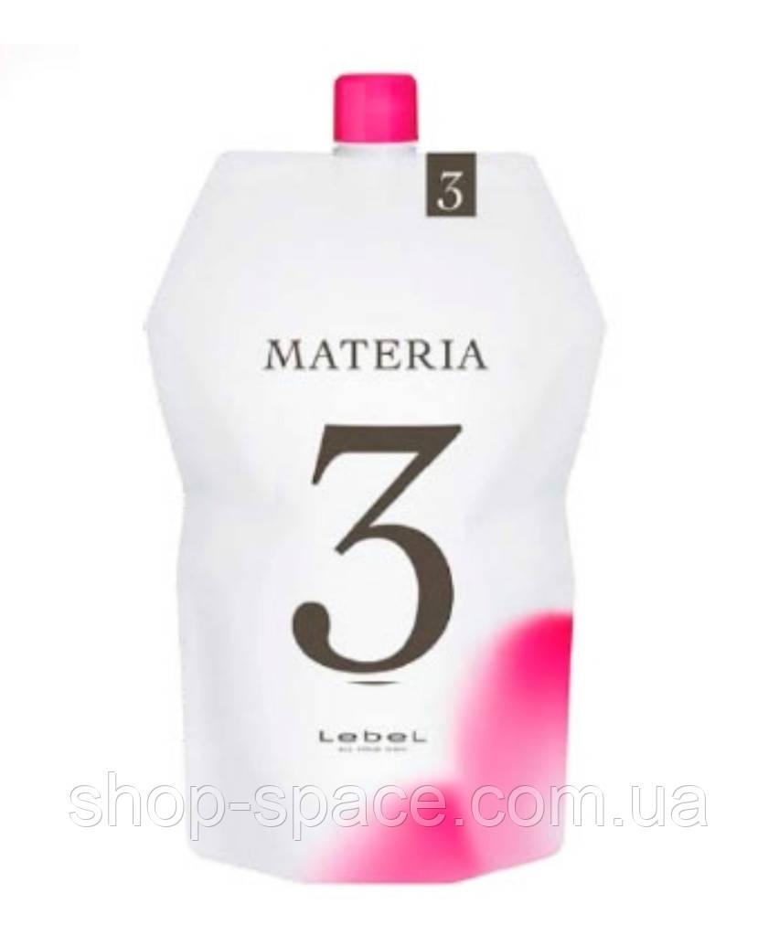 Lebel Oxy Materia Оксидант для смешивания с краской 3%, 1000 мл