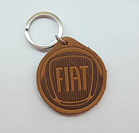 Кожаный брелок / Марки авто / Fiat, фото 1