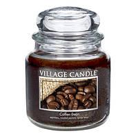 Свеча ароматическая Кофейные Зерна Village Candle 389 г