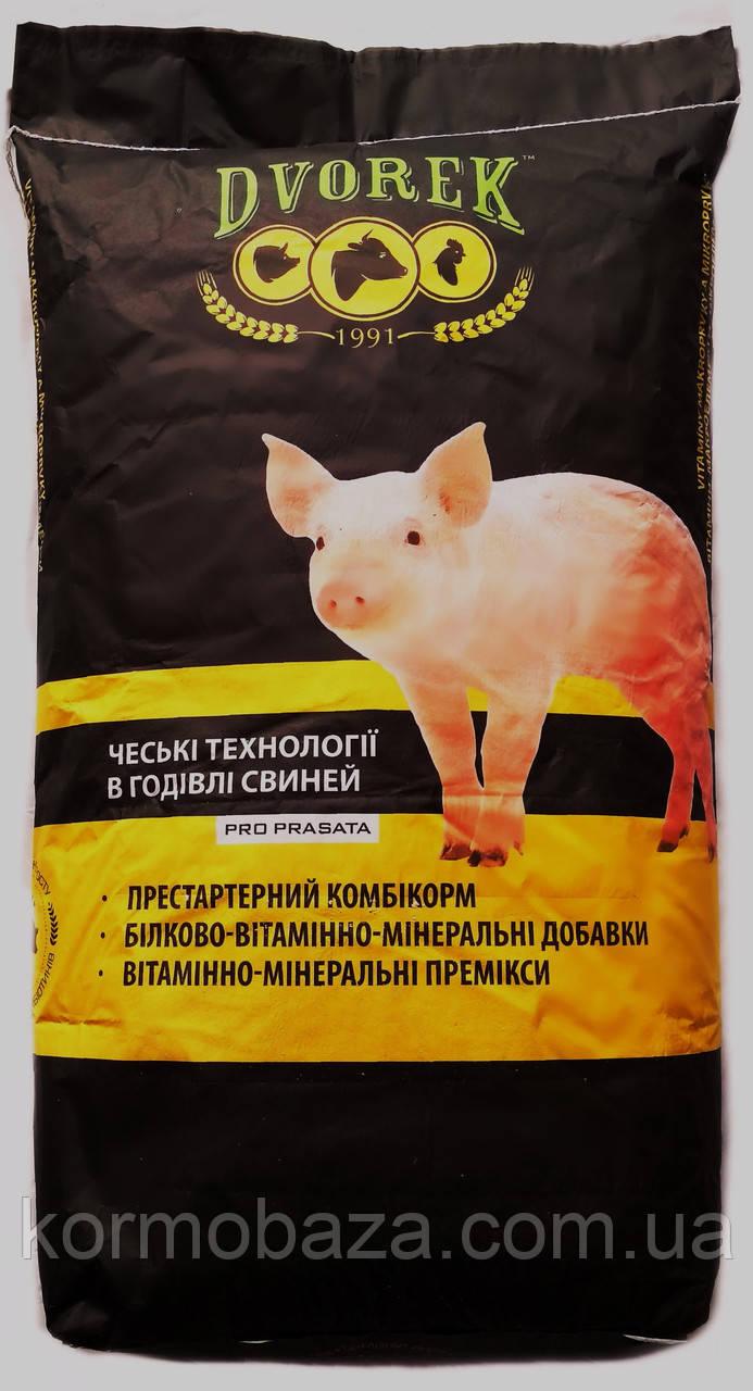 Добавка БМВД для свиней старт 12-30кг Dvorek 25%