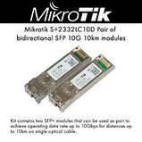 Пара модулей SFP+ Mikrotik S+2332LC10D, фото 2