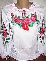 """"""" Розы """"- вышиванка детская для девочки"""