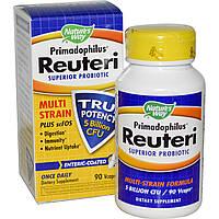 Примадофилус Реутери (пробиотик) 90 капс 5 млрд  Nature's Way
