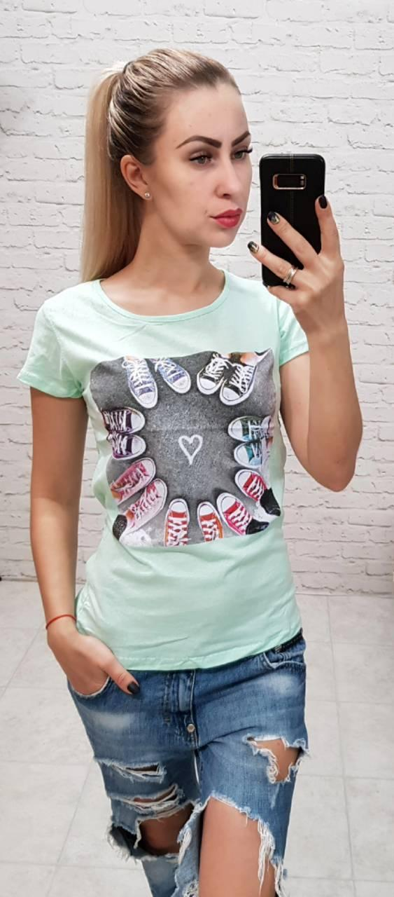 Женская футболка Love Sports Турция р. S.M.L оптом
