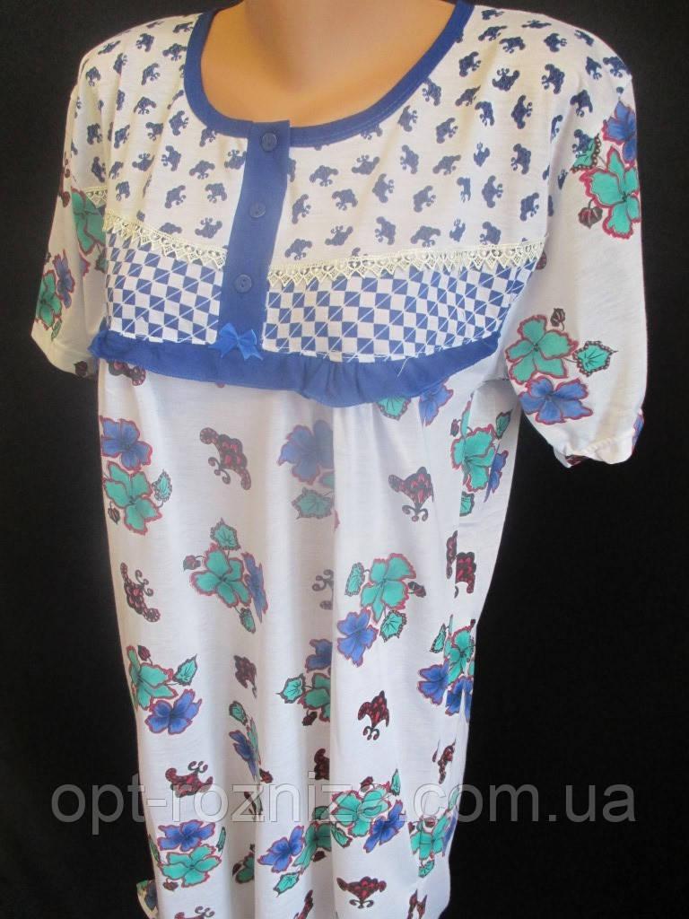 Женские ночные сорочки с оборками.