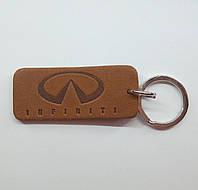 Кожаный брелок / Марки авто / Infiniti, фото 1