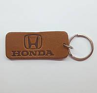 Кожаный брелок / Марки авто / Honda, фото 1