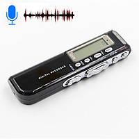 Автоматический диктофон 8GB профессиональный + MP3 плеер, фото 1