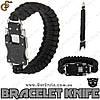 "Браслет-ніж трансформер (паракорд) - ""Bracelet Knife"""