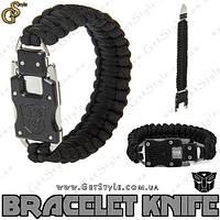 "Браслет-ніж трансформер (паракорд) - ""Bracelet Knife"", фото 1"