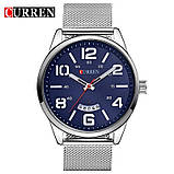 Часы мужские Curren LeRoy silver-blue, фото 2