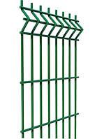 Ограждение, секционный забор, секции ограждения СІТКА ЗАХІД ф3.4оц+ПП яч 200х50мм 1.53/2.5м (2055)