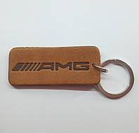 Кожаный брелок / Марки авто / Amg, фото 1