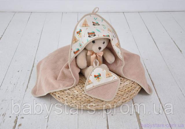 полотенце для купания новорожденных