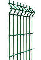 Ограждение, секционный забор, секции ограждения СІТКА ЗАХІД ф3.4оц+ПП яч 200х50мм 1.23/2.5м (2054)
