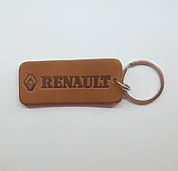 Кожаный брелок / Марки авто / Renault, фото 1