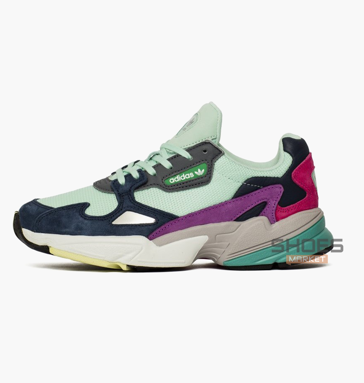 best website really comfortable on wholesale Женские кроссовки Adidas Falcon W