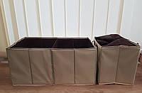 Комплект складных органайзеров с термобоксом в багажник авто