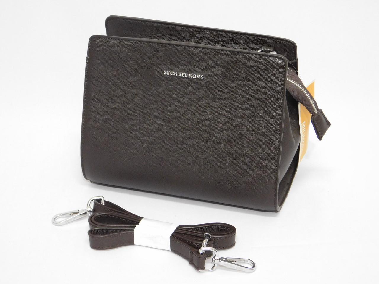 Каркасная женская стильная сумочка Michael Kors реплика