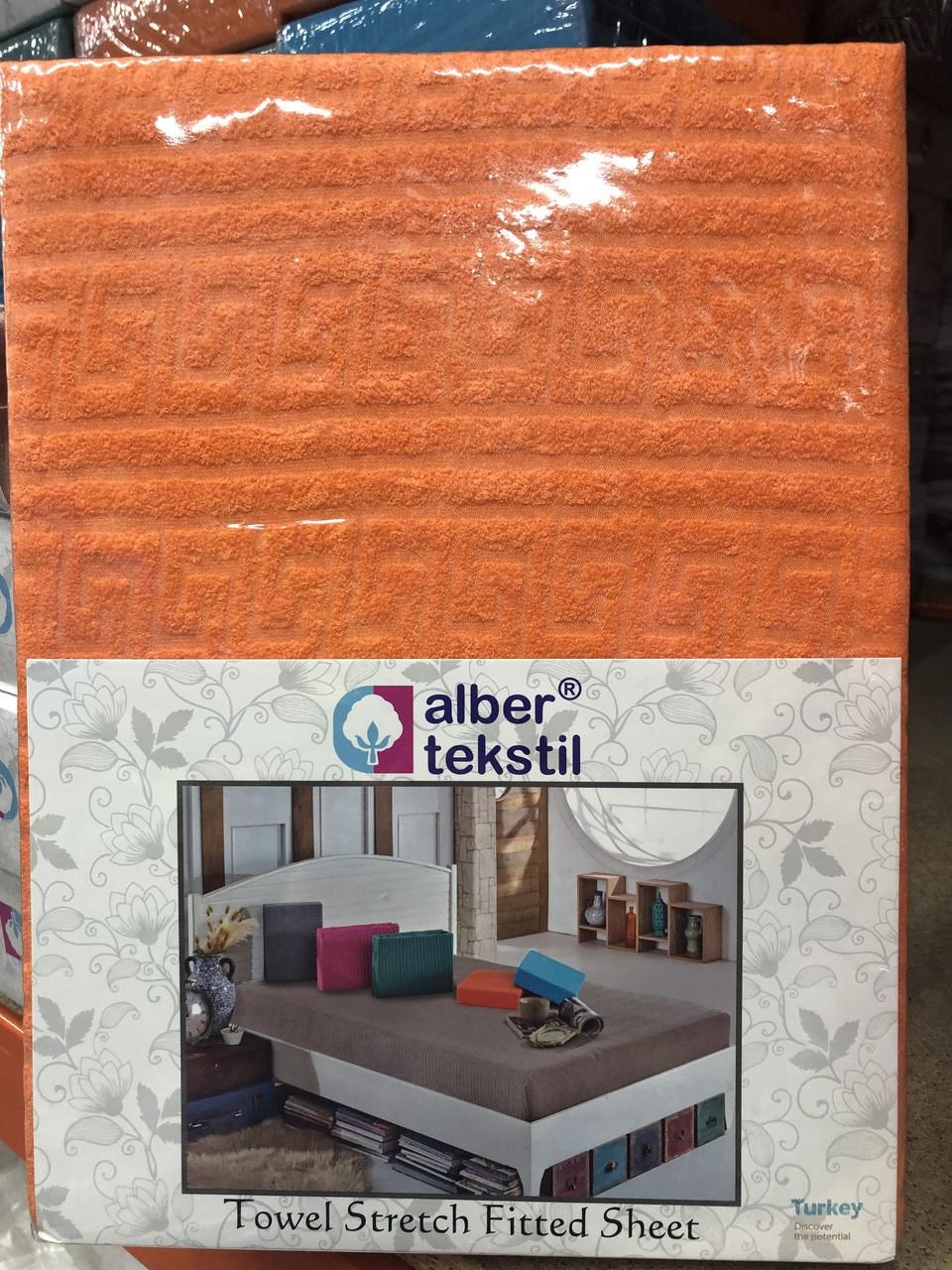 Турецкая простынь на резинке размер 160/200